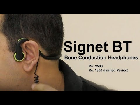 32084d13278 Signet BT bone conduction headphones review - क्या आपने कभी देखा एसा  headphone?