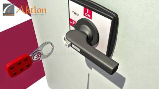 Aktion | Lockout Tagout |Panel lockout device _ Hasp_Lockout | Demo