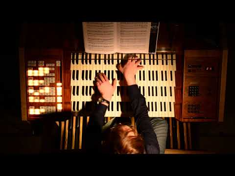 Gustav Holst - Mars from The Planets on Church Organ