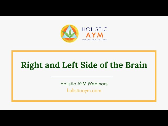 Right and Left Side of the Brain