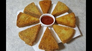 "Try Something Unique ""Fried Chicken Triangles"""