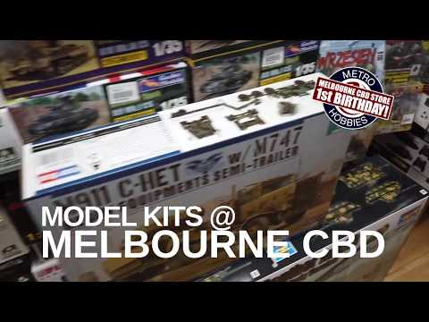 Model Kits In The Melbourne CBD Store!