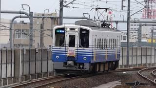 えちぜん鉄道 MC6101形6111 福井駅