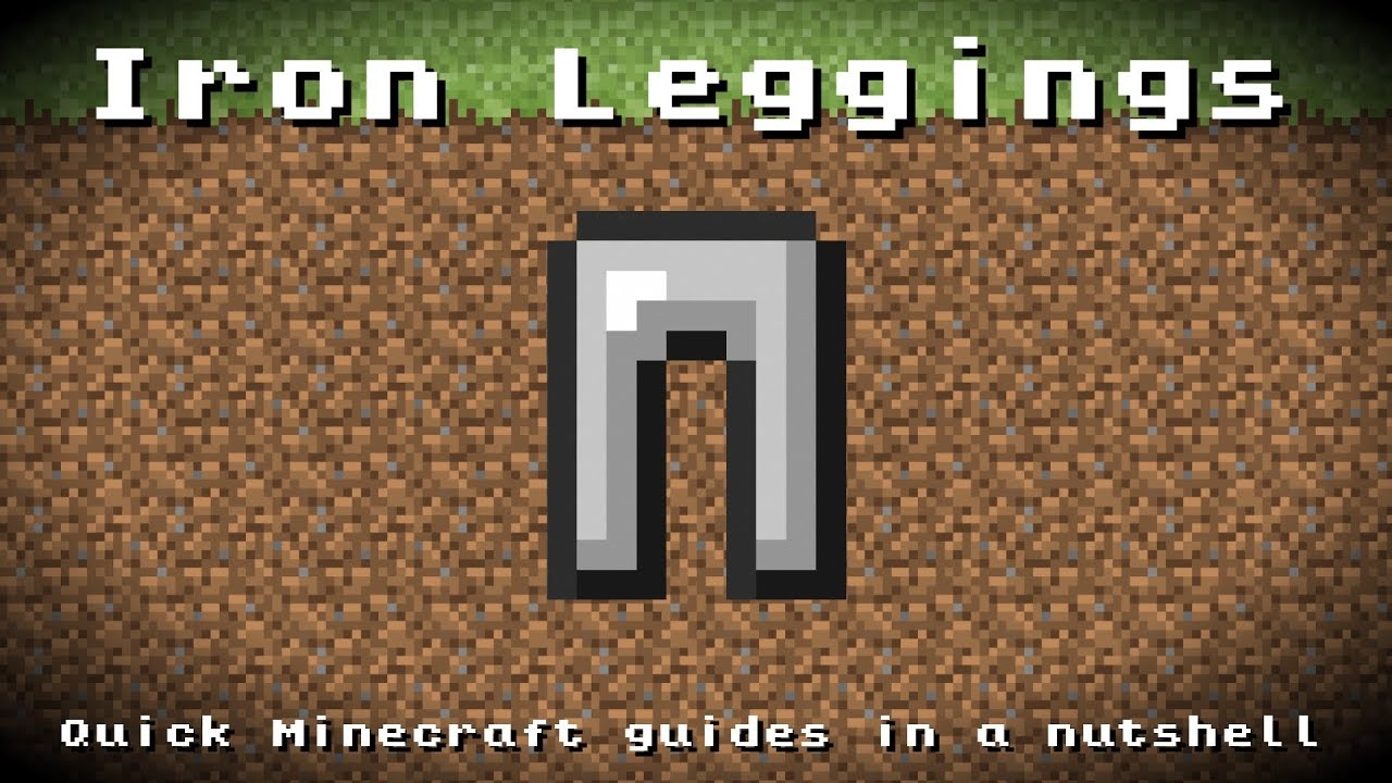 how to make iron leggings in minecraft