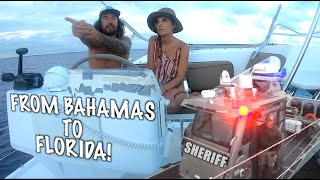 COPS PULL ME OVER IN SALVAGE CATAMARAN - Episode 93