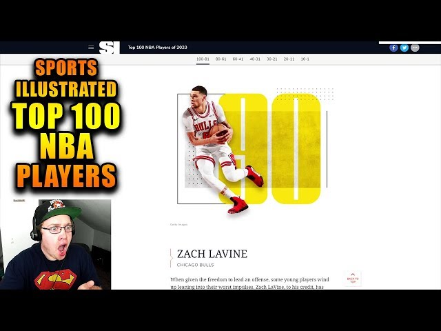 Reacting To Sports Illustrated Top 100 Nba Players Of 2020