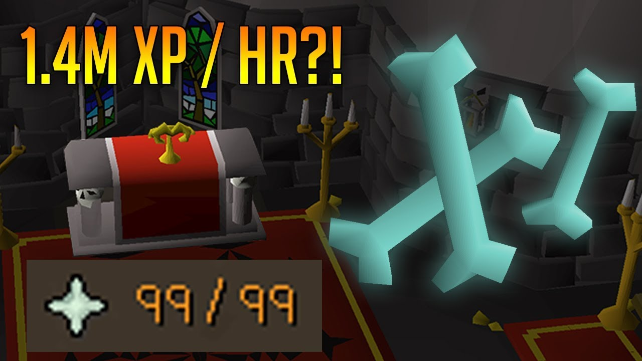 I Used the Cheapest and Fastest Prayer Training Method (OSRS)