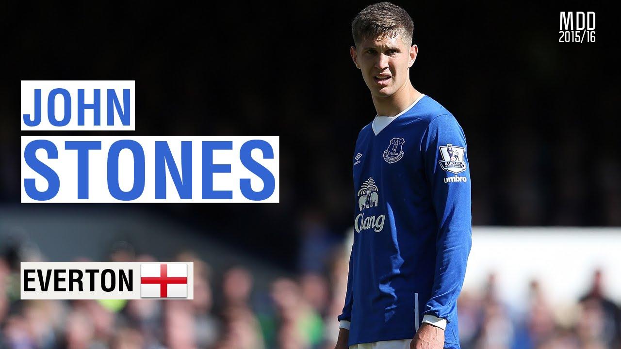 John Stones Everton Goals Skills Assists