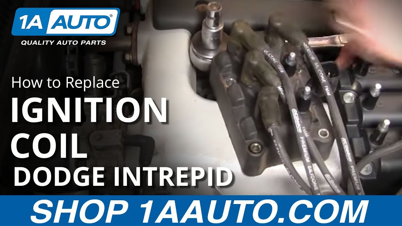 hight resolution of how to replace engine ignition coil dodge intrepid 1993 97 1aauto com