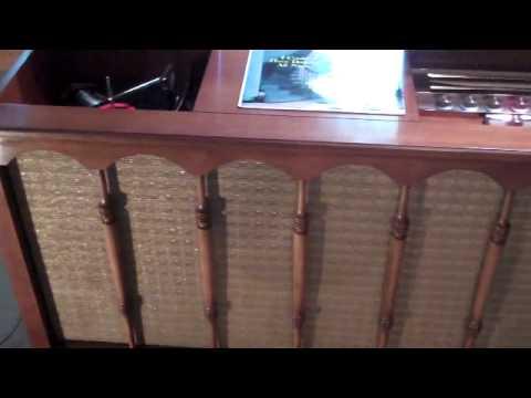 1961 Motorola HIFI stereo. Model SK53CW Cherry cabinet made by ...
