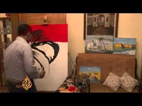 Libyan art, from the heart