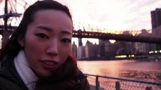 Risa's Trip in NYC ②⑦ ルーズベルトアイランド ゴンドラ ロープウェイ