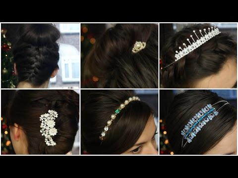 5 Updo Ideas With Hair Jewelry