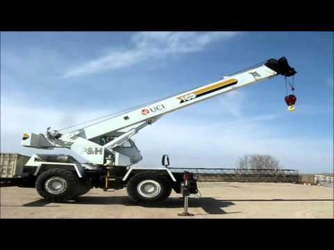 p amp h 122 omega 100 series hydraulic crane for sale sold at rh youtube com Operator Manuals for Cranes Ph Crane Manual PDF