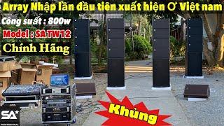 Dàn âm thanh loa Array SA Sound chính hãng , SIÊU KHỦNG về tiền giang , audio mạnh cường