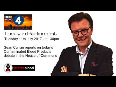 BBC Radio 4  : Today in Parliament - 11th July 2017