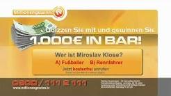 Achtung Abzocke! Millionengewinn TV