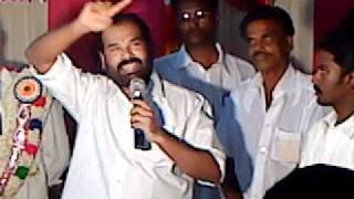 VELASAMYDEVAR ,LAST SPEECH VIDEO RELEASED  BY M.R.KANNAN