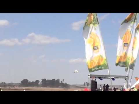 Air Zimbabwe low flypast, Air show 2014, Harare