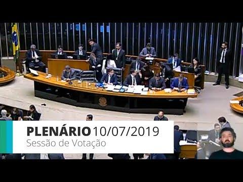 Plenário - Aprovado texto-base da reforma da Previdência - 10/07/2019 - 16:13