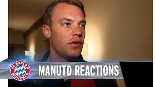 Manchester United vs. FC Bayern - Reactions