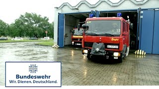 Einsatz im Stollen: Bundeswehr-Feuerwehr unter Tage