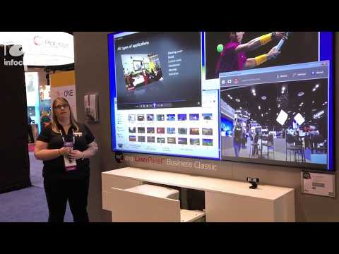 InfoComm 2017  dnp Showcases LaserPanel Business Classic Display Package