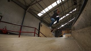 The Process: David Allan - Nollie Late Front Foot Flip