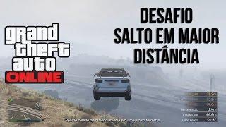SALTO EM MAIOR DISTÂNCIA - GTAV Online