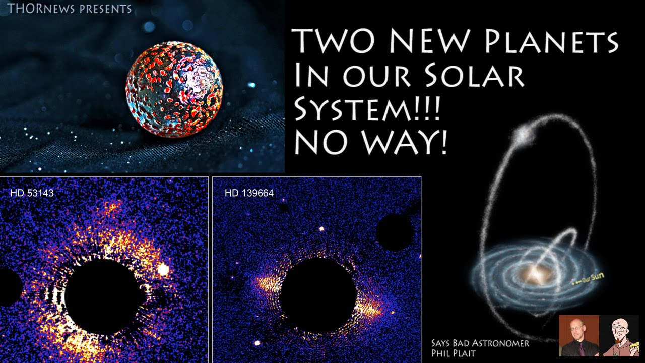 Two New Planets in our Solar System?!? No Way*! - YouTube