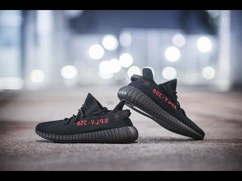 adidas yeezy boost 350 v2 black and red