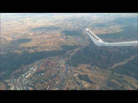 Ryanair Flight From Madrid (MAD) To Rabat (RBA).