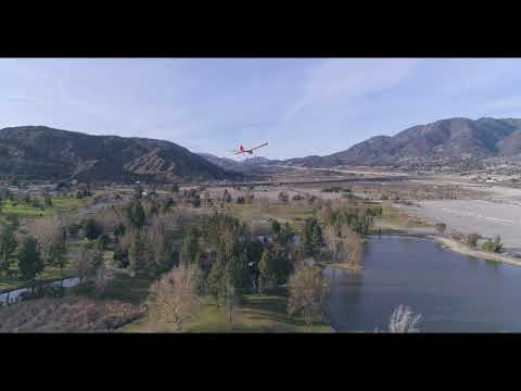 Aerial Tour of Glen Helen Regional Park and Amphitheatre