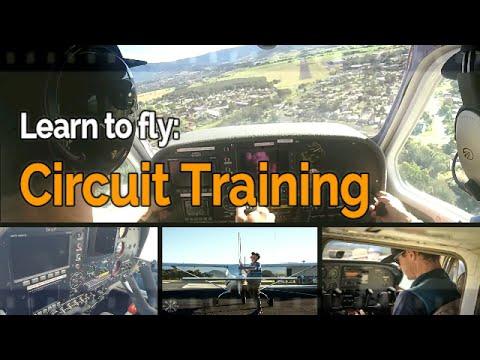 RECREATIONAL PILOT CERTIFICATE: Flying Lesson #4 Circuit Training | Audio | ywol