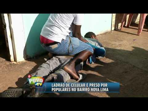 """Populares do Nova Lima """"prendem"""" ladrão e o entregam à polícia"""