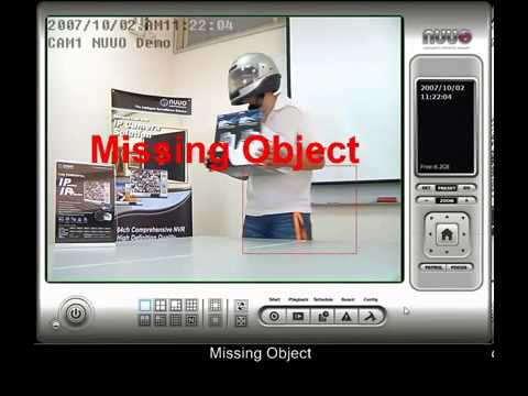 NUUO Main Intelligent Functions   Video Analytic