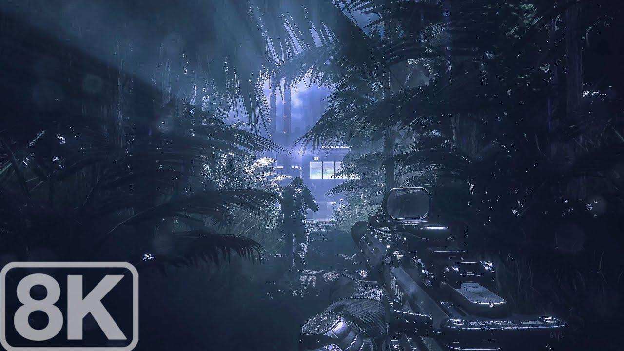Rio de Janeiro (The Federation Factory Infiltration) Call of Duty Ghosts - 8K