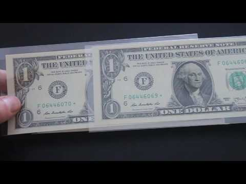 Super Rare Star Dollar Notes 150,000 Low Print Run 2013 Atlanta