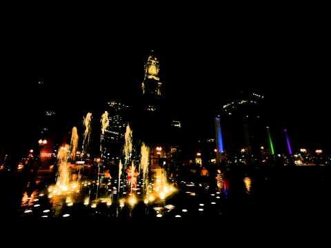Night of Boston Downtown