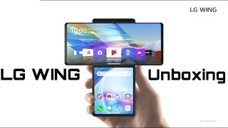 LG WING || Unboxing