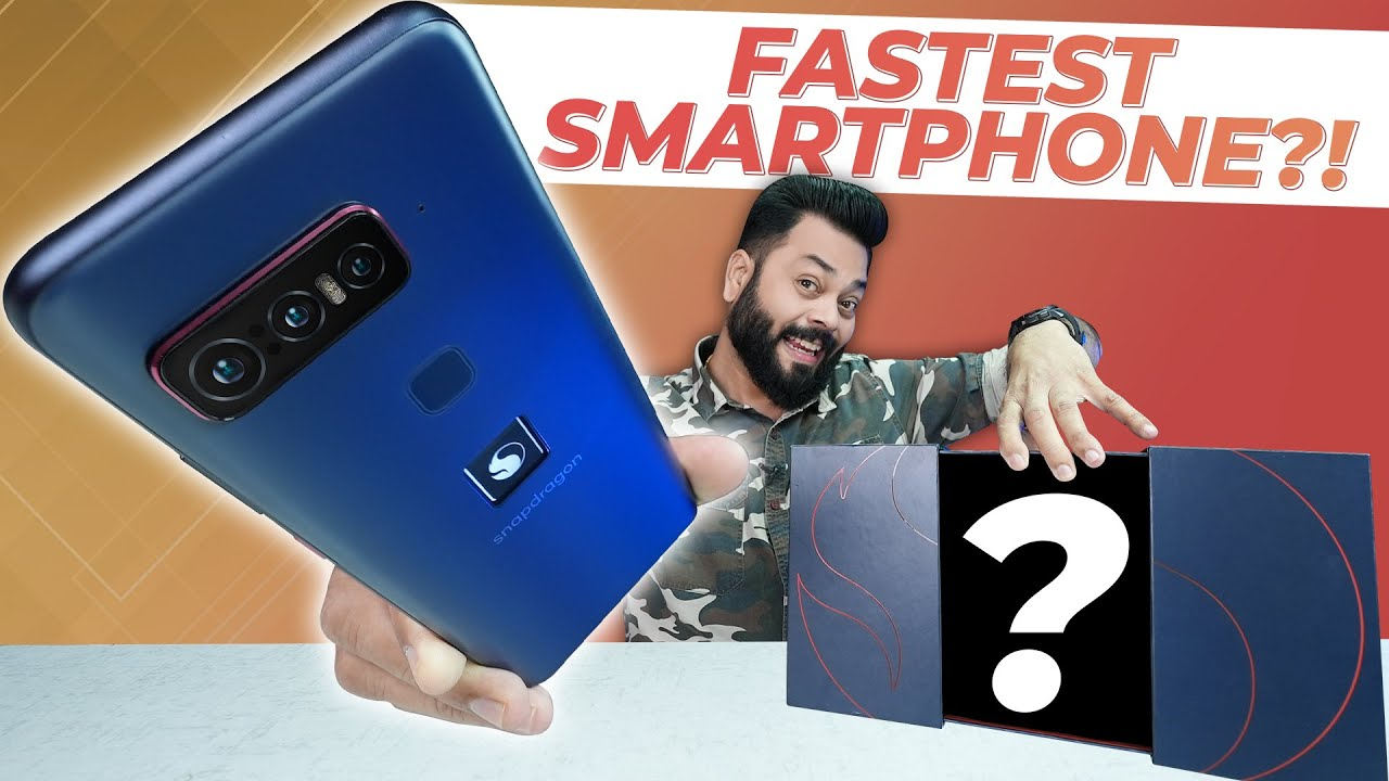 Snapdragon Insiders Phone Unboxing & First Impressions ⚡ World's Fastest Android Smartphone Is Here😮