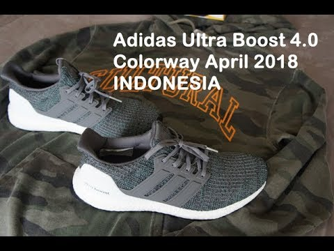 Ultra Boost 4 0 Grey Green Colorway April 2018 Bahasa Indonesia