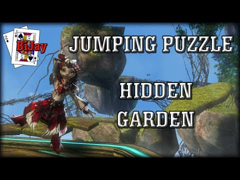 Hidden Garden Jumping Puzzle In Guild Wars 2 Youtube