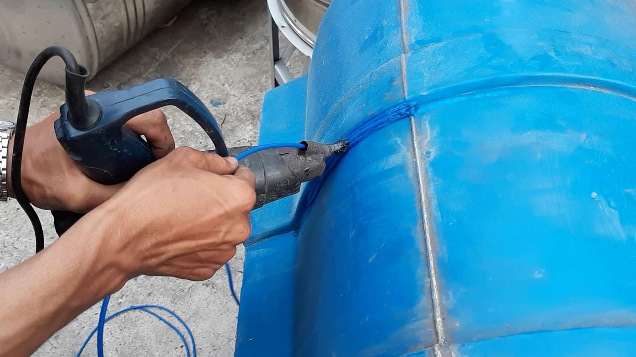 Chế tạo máy hàn nhựa cầm tay