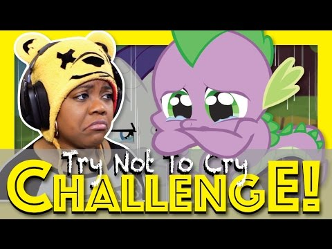 Try Not To Cry Challenge | Sad My Little Pony MLP | Eric Wartick