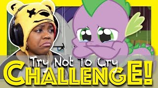 try not to cry challenge   sad my little pony mlp   eric wartick