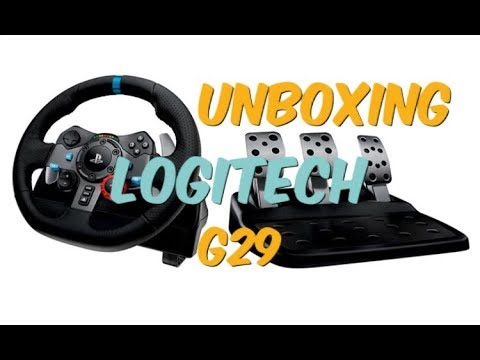 23defeed153 Unboxing - Logitech g29 Ps4 Playstation 4 - YouTube