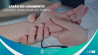 Lesão dor pulso sem aguda súbita no