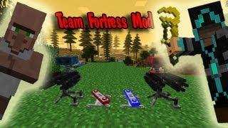 Обзор Мода Minecraft. Тим Фортес! Team Fortress Mod! №62