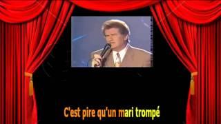 Karaoké Eddy Mitchell  - Il ne rentre pas ce soir